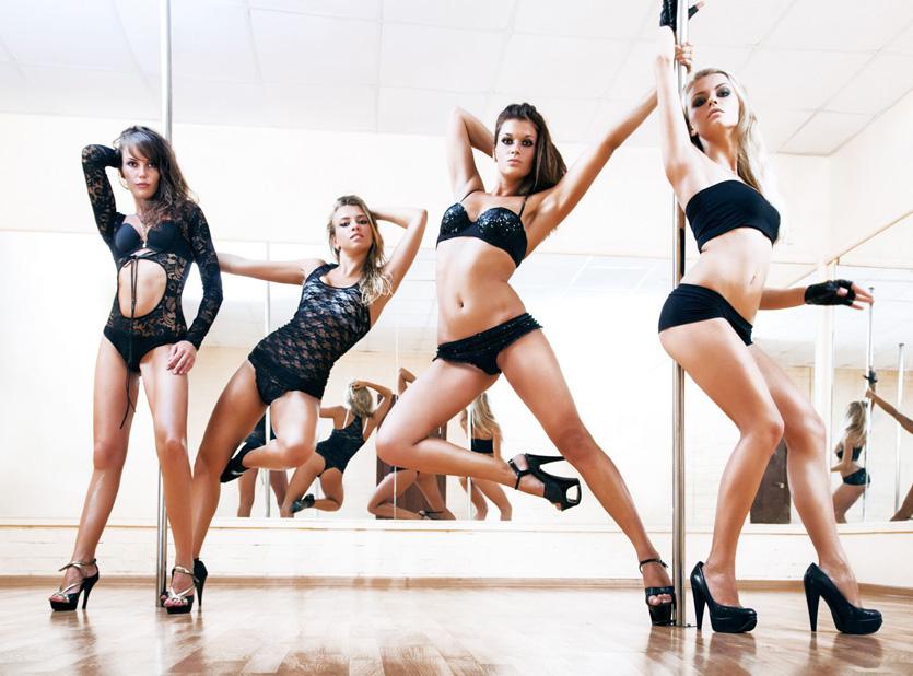 Chaussure & talons de pole dance