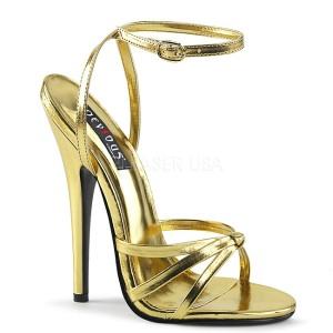 Dorée 15 cm DOMINA-108 chaussures fetish à talons