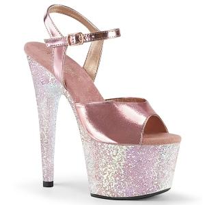 Dorée 18 cm ADORE-709LG chaussures plateforme et talons glitter