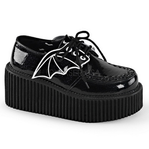 Etincelle CREEPER-205 Chaussures Creepers Femmes Plateforme