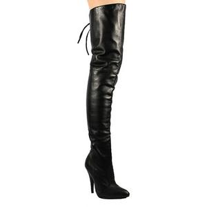 Noir Cuir 13 cm LEGEND-8899 bottes cuissardes hommes