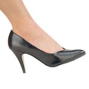 Noir Mat 10 cm DREAM-420 Escarpins Chaussures Femme