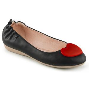 Noir OLIVE-05 ballerines chaussures plates femmes