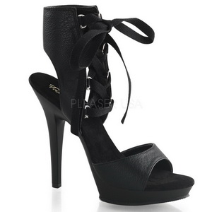 Noir Verni 13 cm Fabulicious LIP-194 Chaussures Stilettos