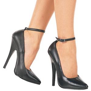 Noir Verni 15,5 cm DOMINA-431 Escarpins Chaussures Femme