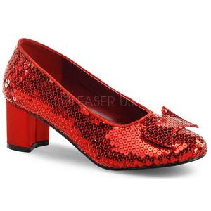 Paillettes 5 cm DOROTHY-01 Escarpins Chaussures Femme