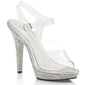 Pierre strass 13 cm LIP-108DM Chaussures pour femmes a talon