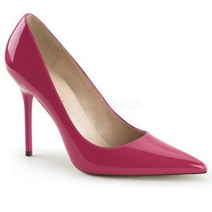 Pink Verni 10 cm CLASSIQUE-20 escarpins à talon aiguille bout pointu