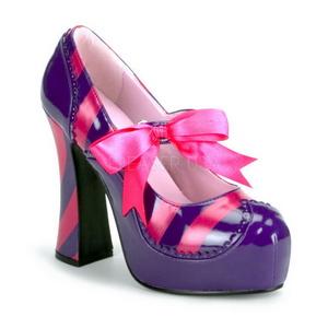 Rose Pourpre 13 cm KITTY-32 Chaussures pour femmes a talon