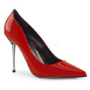 Rouge Verni 10 cm APPEAL-20 grande taille chaussures stilettos