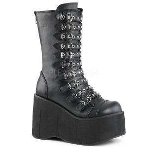 Similicuir 11,5 cm DEMONIA KERA-50 bottes gothique avec plateforme