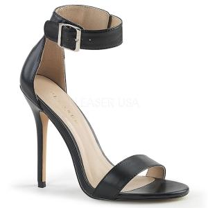 Similicuir 13 cm Pleaser AMUSE-10 sandales à talons aiguilles