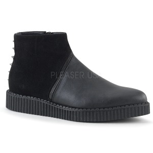Similicuir 3 cm V-CREEPER-750 Bottines Creepers Hommes