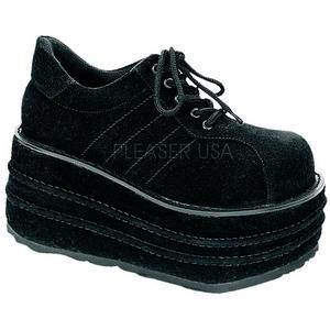 Similicuir 9 cm TEMPO-08 Chaussures Gothiques Hommes Plateforme