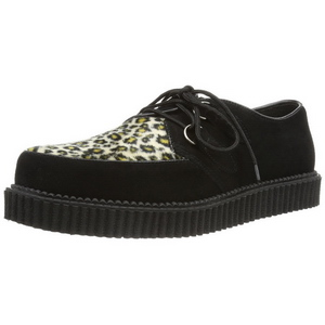 Suede 2,5 cm CREEPER-600 Chaussures Creepers Hommes Plateforme