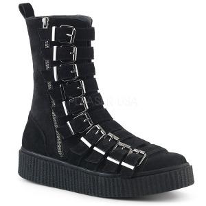 Suède 4 cm SNEEKER-315 Chaussures sneakers creepers hommes