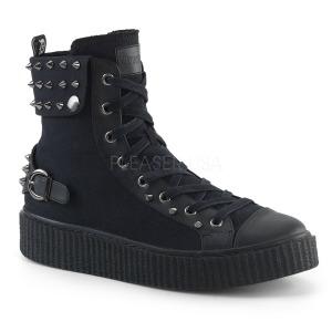 Toile 4 cm SNEEKER-266 Chaussures sneakers creepers hommes
