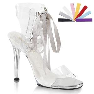Transparent 11,5 cm GALA-32 sandales à talons aiguilles