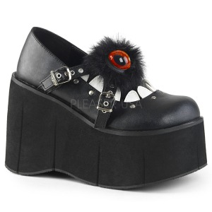 Vegan 11,5 cm Demonia KERA-11 chaussures lolita plateforme