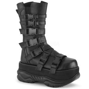 Vegan 7,5 cm NEPTUNE-210 bottes demonia - bottes plateforme unisex