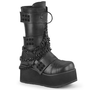 Vegan 8,5 cm TRASHVILLE-138 bottes demonia - bottes plateforme unisex