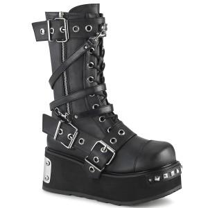 Vegan 8,5 cm TRASHVILLE-250 bottes demonia - bottes plateforme unisex