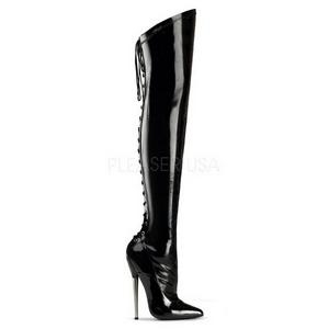 Verni 16 cm DAGGER-3060 bottes overknee femme