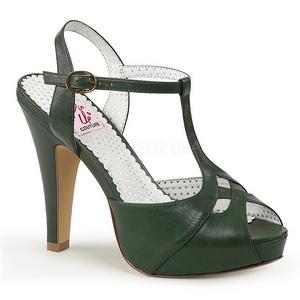 Vert 11,5 cm BETTIE-23 Sandales de Soirée a Talon