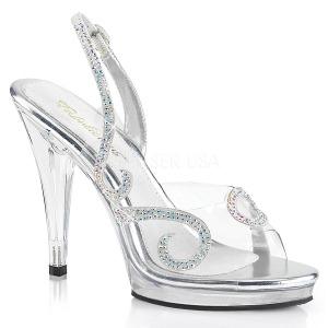 pierre strass 11,5 cm FLAIR-457 sandales à talons aiguilles