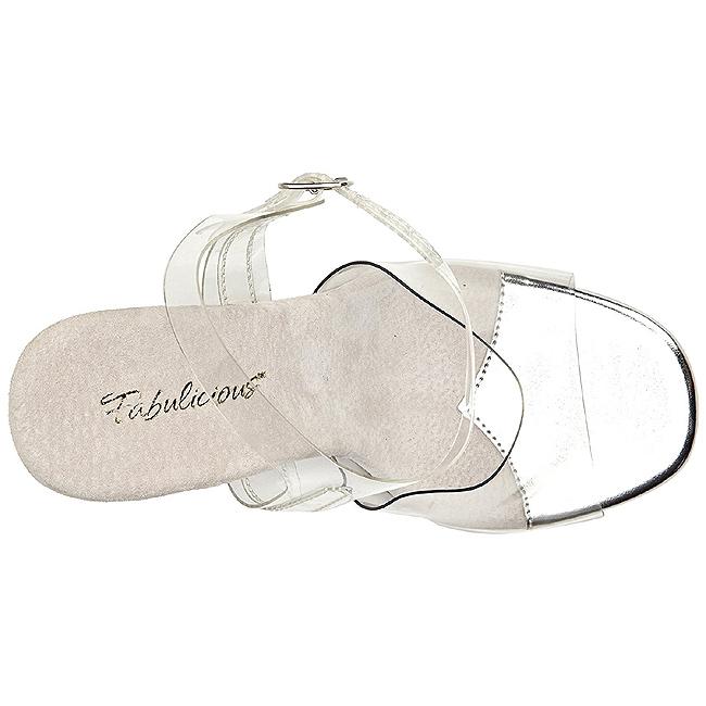 Sandales Talon Cm De 5 11 08 Gala Blanc Fabulicious À Soirée g76bvyYf