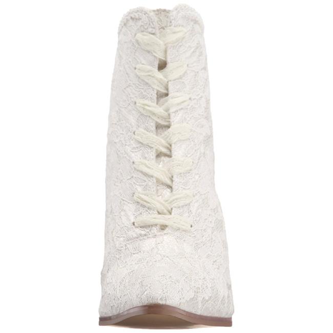 Bottines 30 Victorian Blanc 12 Hauts Lacets Talons À Femmes Cm 1qxxvtEwI