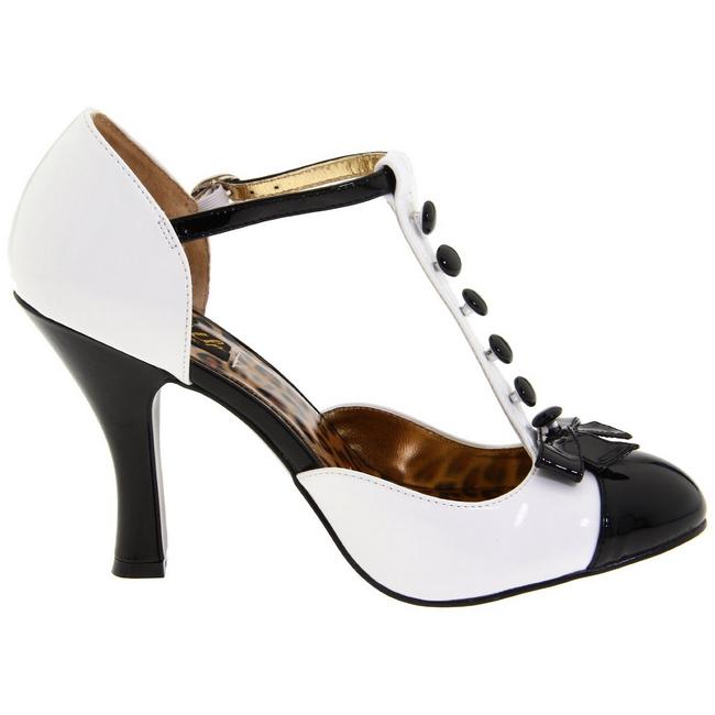 e6d5a4920b64 Blanc Suede 10 cm SMITTEN 10 Escarpins Chaussures Femme