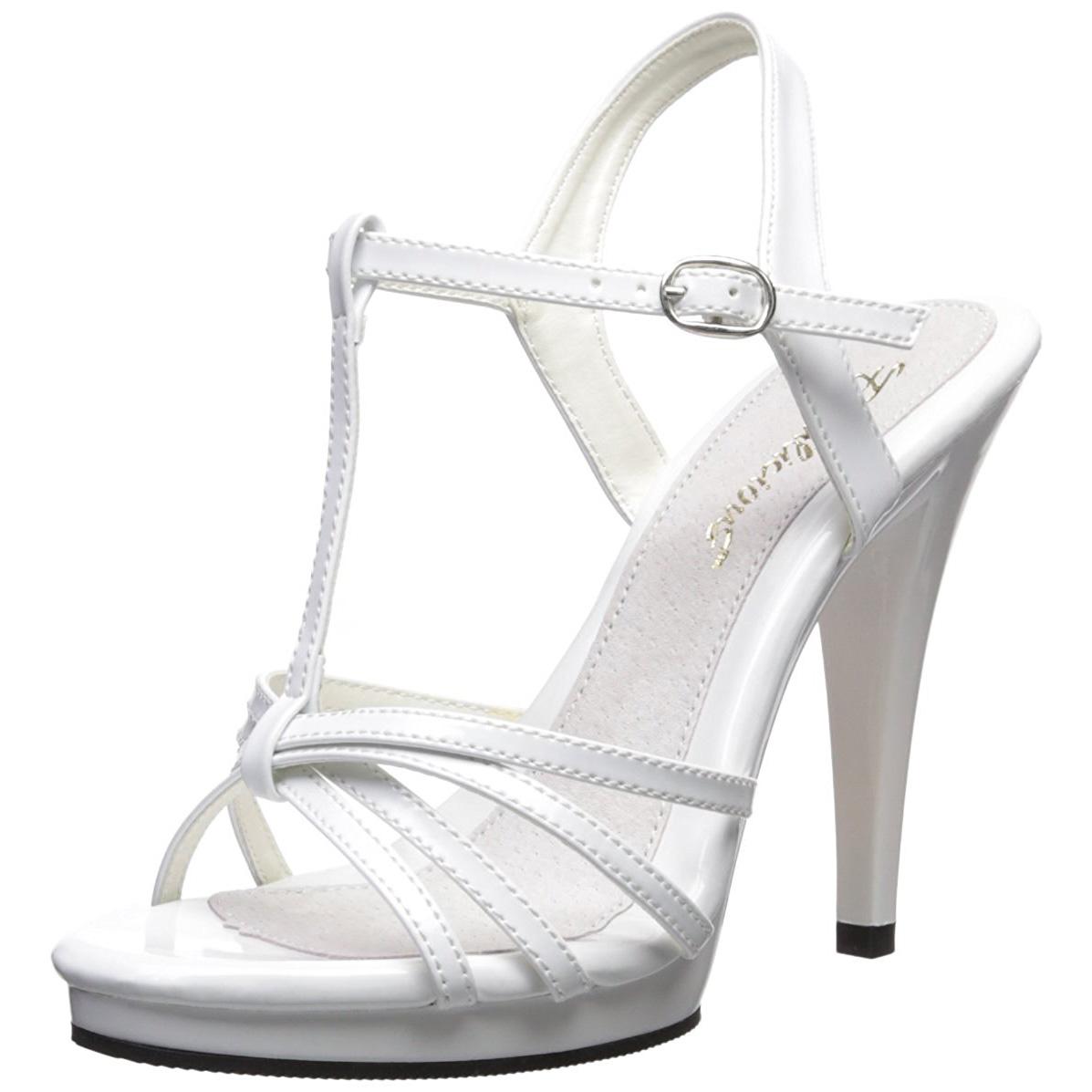 Cm Femme Talon 420 Flair Sandales À Blanc Verni 12 W29IDHE