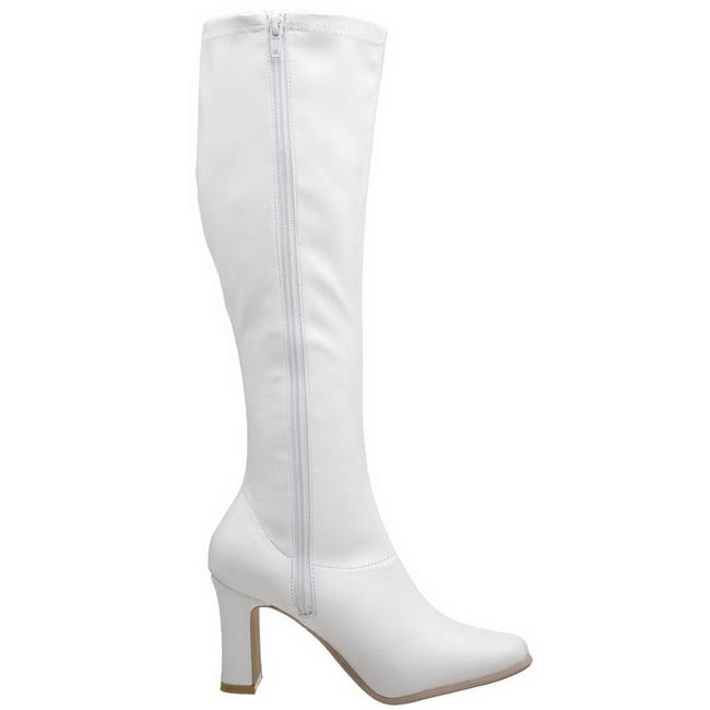 Blanc Verni 9,5 cm FUNTASMA KIKI,350 Bottes Femmes