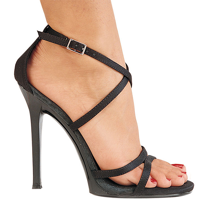 17 centimètres de talon haut chaussures.,15 cm noir