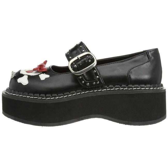 Chaussures à lacets Demonia noires Casual femme PcXdst3