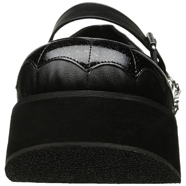 6 Sprite 05 Gothique Noir Plateforme Chaussures Cm Demonia rBCxQoeWEd