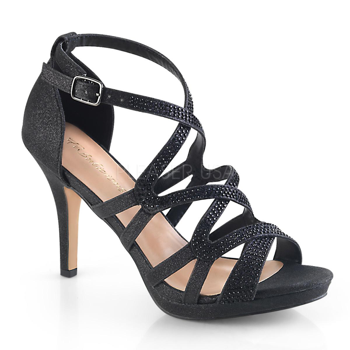 Sandales Noir Aiguilles Daphne 9 42 Talons Cm 5 qUpSMVz