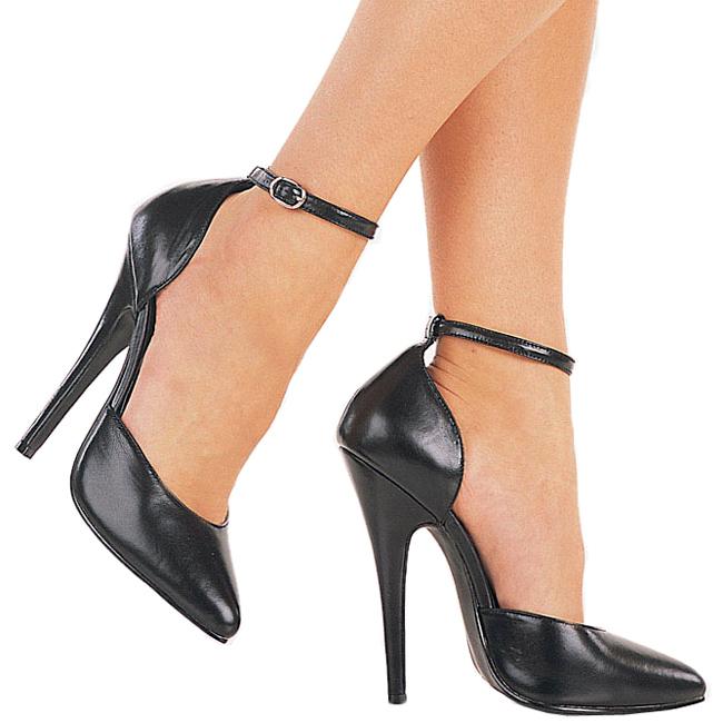 Domina Chaussures 402 Noir Femme 15 Cm Cuir Escarpins q1ttFvw