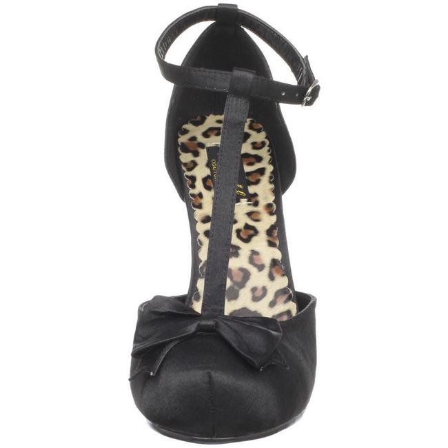 ca3a457ef84 Noir Satin 12 cm CUTIEPIE-12 Escarpins Chaussures Femme