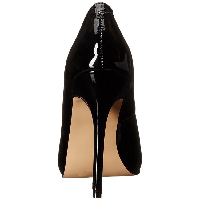 52992a209d68 Noir Verni 13 cm AMUSE-20 Escarpins Talon Aiguille Femmes