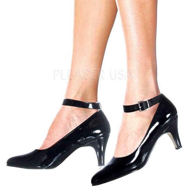 f9a3f22b8f62 Noir Verni 8 cm DIVINE-431W Escarpins Chaussures Femme