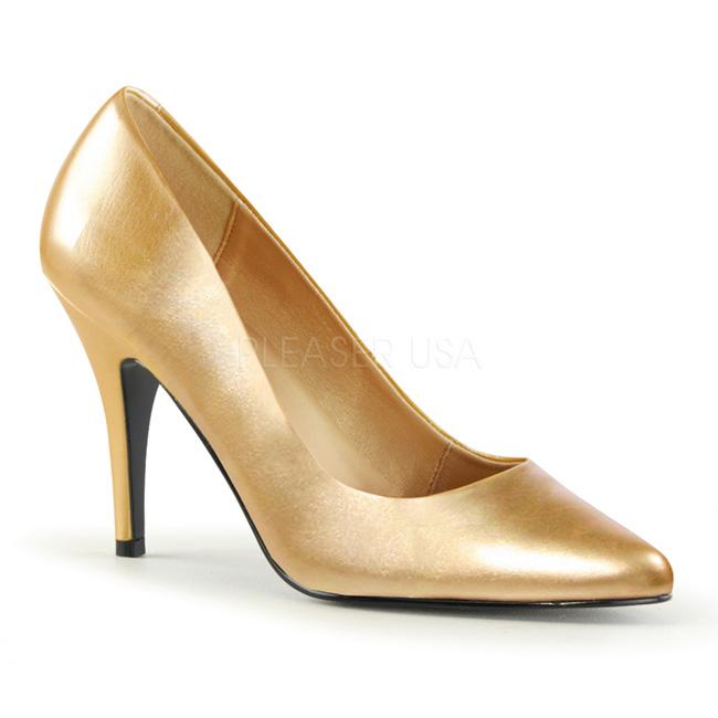 7e9a09699 Or Mat 10 cm VANITY-420 Escarpins Chaussures Femme