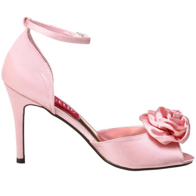 Satin 02 Femme Rose 9 Cm Sandales Talon 5 A Rosa qSzVjLGUpM