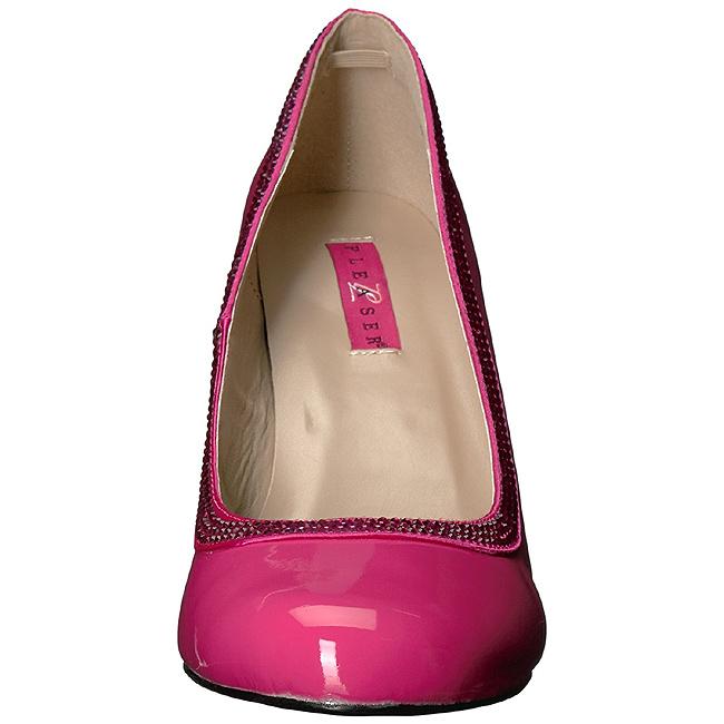 Rose Verni Taille Cm Queen Boutique Grande 10 Escarpins Femmes 04 NPZwkX80nO