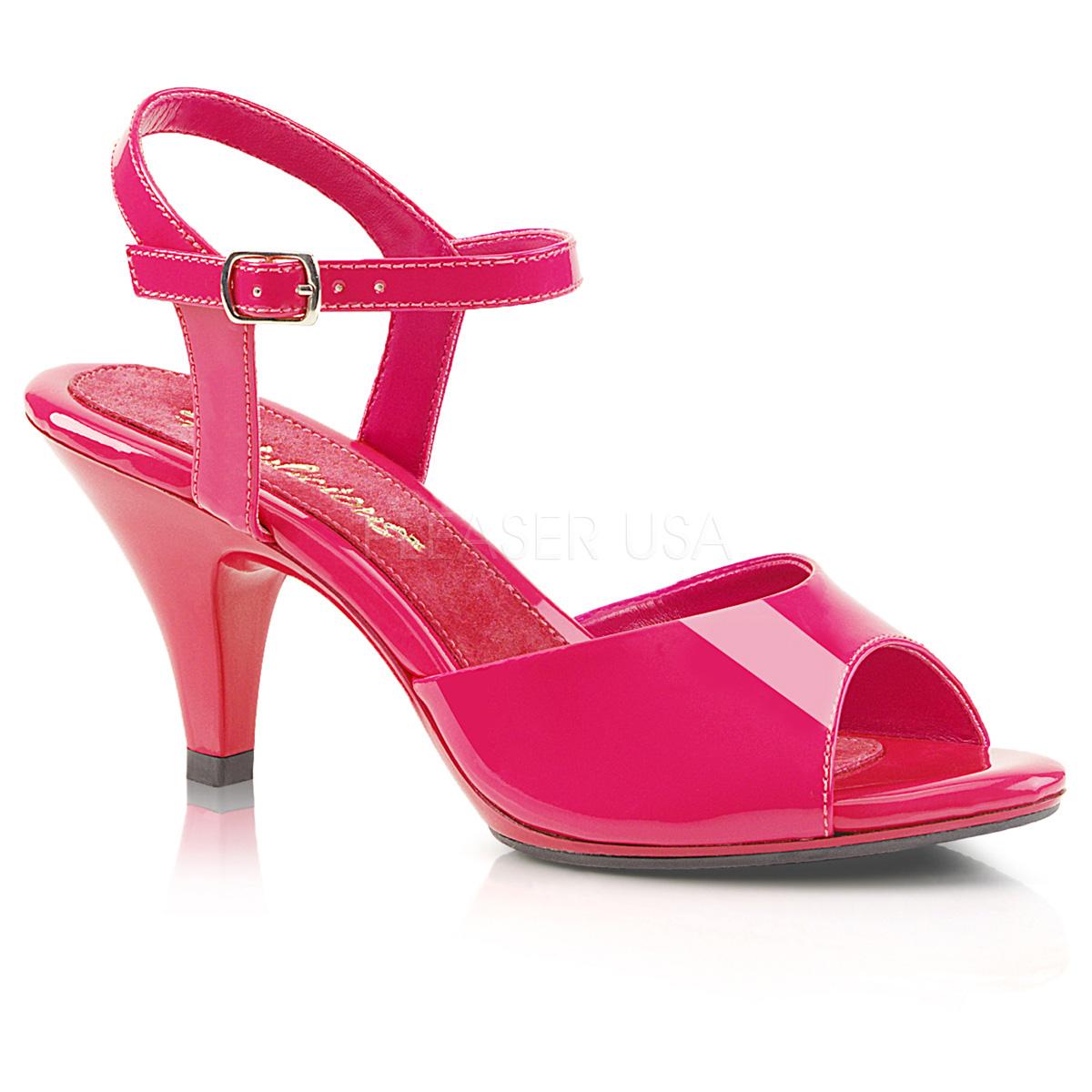 rose verni 8 cm belle 309 sandales femme a talon boutique en ligne. Black Bedroom Furniture Sets. Home Design Ideas