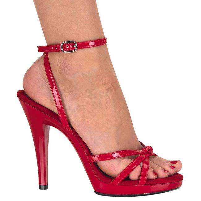 Talon Sandales 12 A 436 Flair Cm Femme Verni Rouge jRLA54
