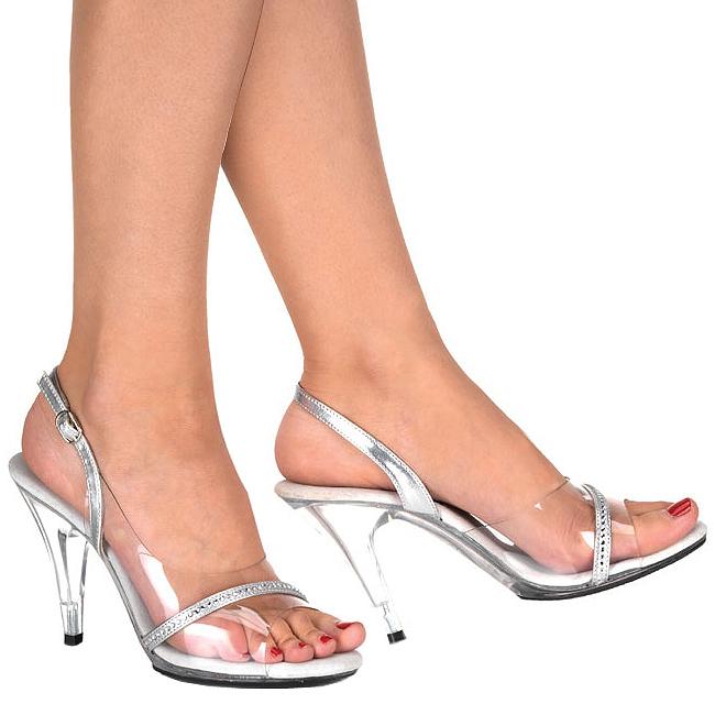 5 456 Transparent Cm Caress Sandales 10 A Talon Femme EHD9IW2