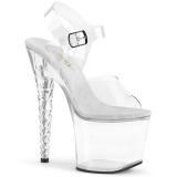 Acrylique 18 cm Pleaser UNICORN-708 Plateforme Chaussures Talon Haut
