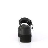 Argent 11,5 cm CELESTE-09 sandales à talon carré et plateforme glitter